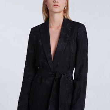 Set Jacquard Suit Jacket