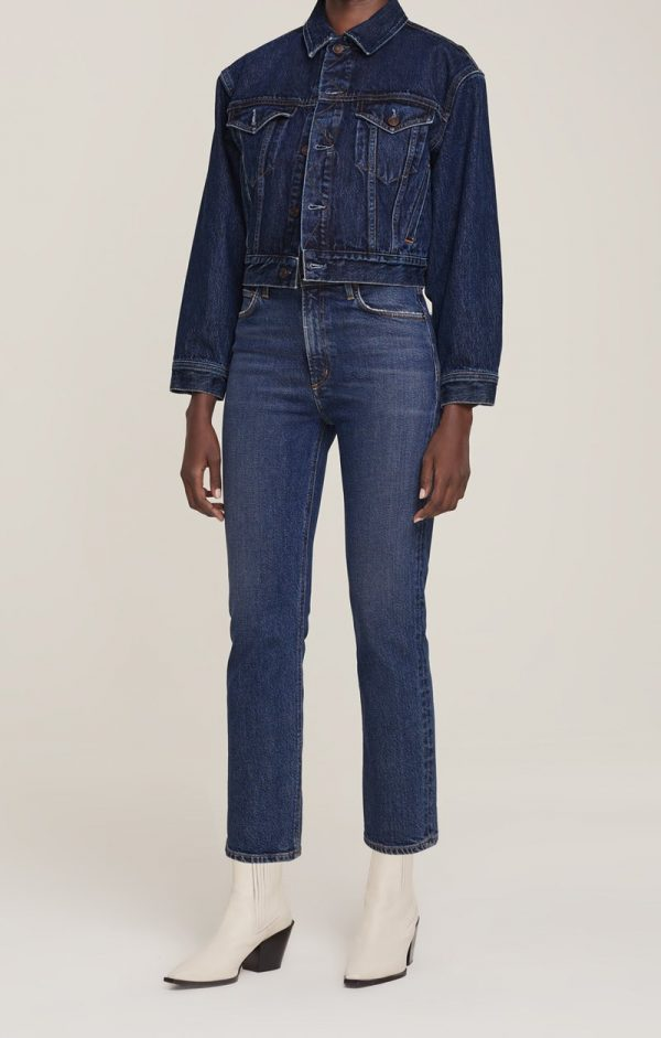 Agolde Wilder Mid Rise jeans
