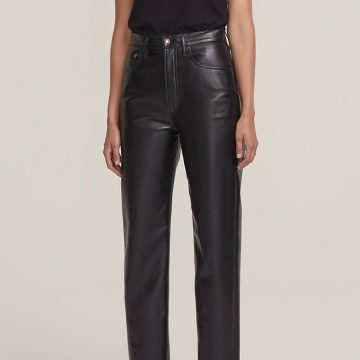 Agolde Recycled Leather Trousers