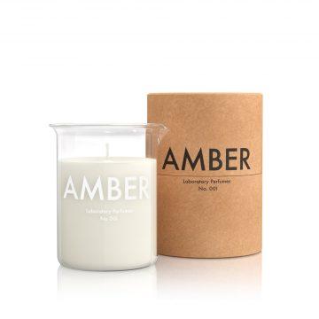 Laboratory Perfume Amber Candles
