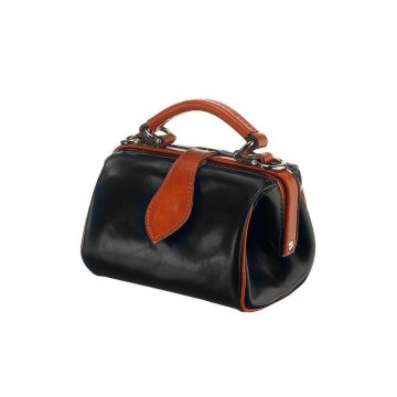 Miss Doctor Black and Tan Bag