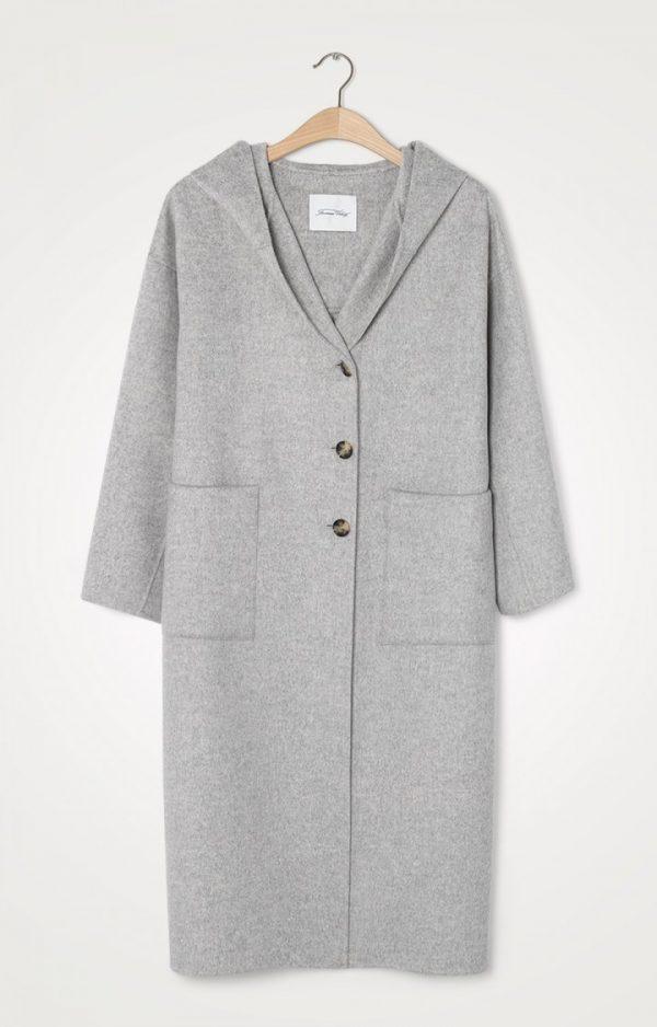 American Vintage Dado Grey Coat