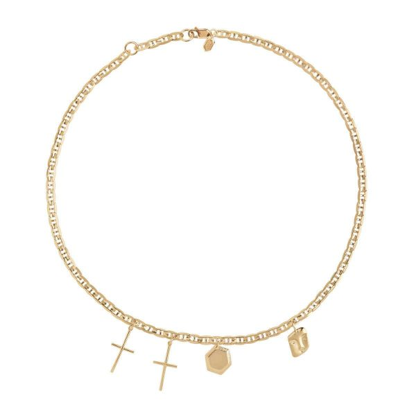 Maria Black Necklace