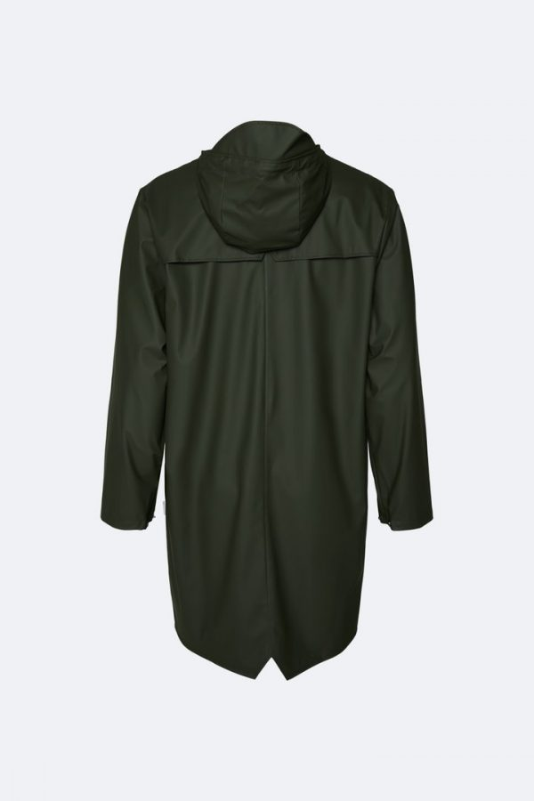 rains green coat
