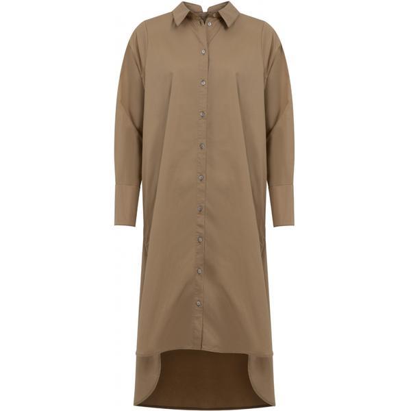 CAMEL SHIRTDRESS